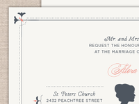 Southern Chic Wedding Suite