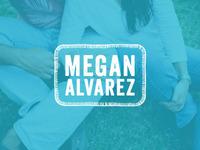Megan Alvarez Logo Concept