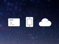 Development, Mobile, Cloud