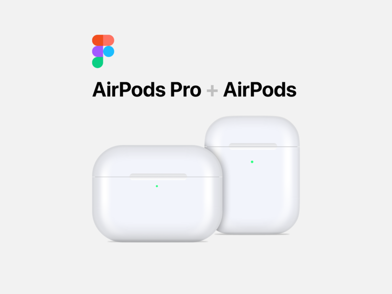 AirPods Vector Freebie apple vector download freebie figma airpods pro airpods