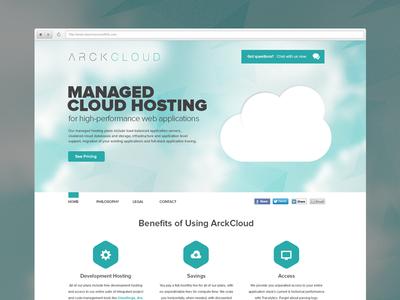 ArckCloud Homepage