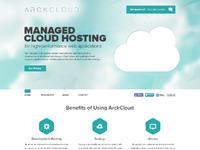 Arckcloud homepage v1
