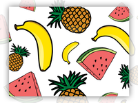 Repeating Fruits Pattern