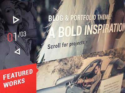 Photography Theme Design typography wordpress theme responsive themeforest clean template