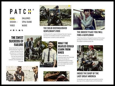 PATCH Magazine Theme newspaper magazine masonry blog typography theme wordpress pixelgrade