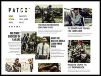 PATCH Magazine Theme