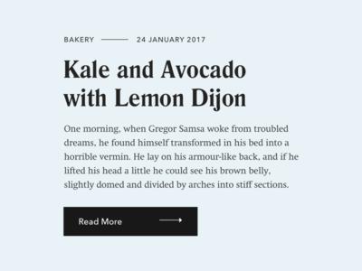 Food Blogging Theme –#1 Font Pairings theme wordpress type fonts typography blog food
