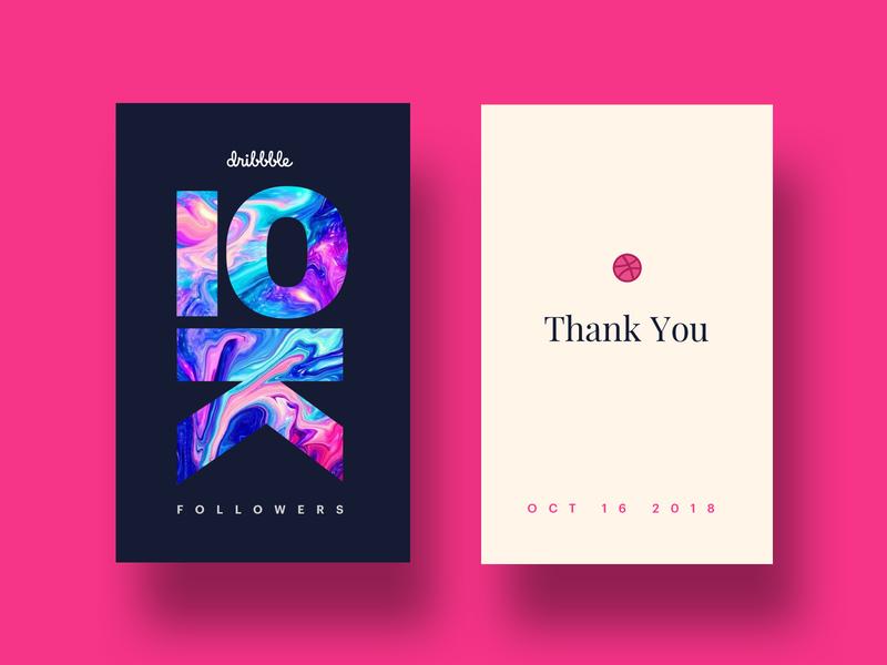 🏀10k 🏀Love you all! 💜 brand minimal ux ui