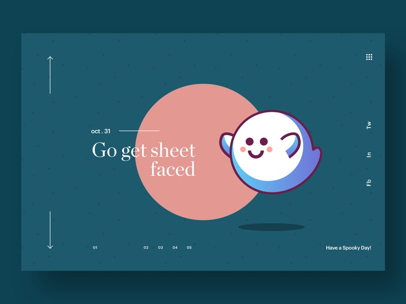 Let's Get Sheet Faced! illustration typography app web hero branding web design brand minimal ux ui