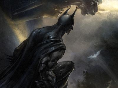 Batman - The Signal (Detail)