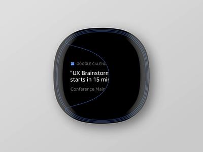 Wearable Exploration: III simplicity lines notification alert apple watch wearable