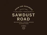 Sawdust Road Type Lockup