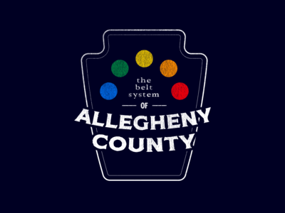 Allegheny Belt System - Badge 1