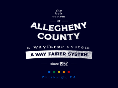 Allegheny Belt System - Badge 3