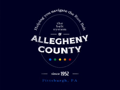 Allegheny Belt System - Badge 4
