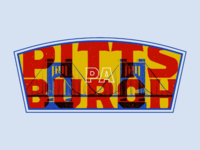 The City of Bridges Badge