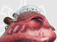 Jabba the Hutt, reimagined.