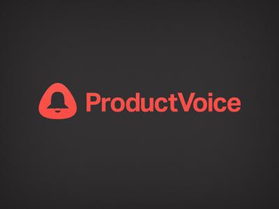 Productvoice Logo (in progress) logo logotype brand branding symbol icon product letter