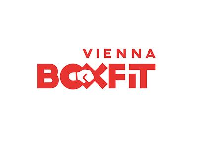 BoxFit Vienna Logo vienna typography type logo graphic design boxing boxfit