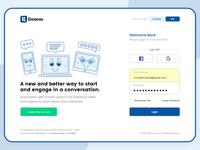 Login Page UI/UX Design