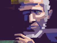 Man 2 old man illustration