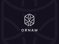 Elegant geometric ornament logo. (For Sale)