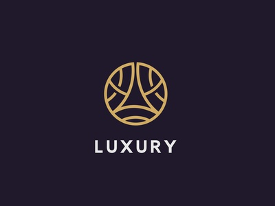 Luxury linear circle logo (For sale)