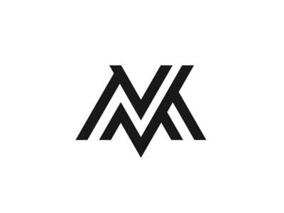 M letter linear logo icon (For sale)