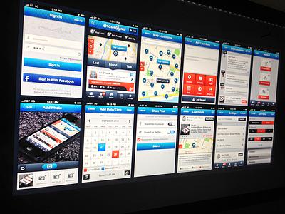 Crowdfynd App UI crowdfynd lost find tips uiux