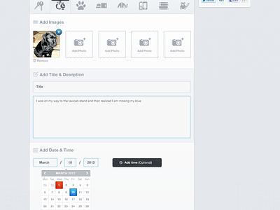 Crowdfynd Website website ui crowdfynd map pins profile drop down web design