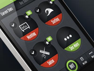 Manager Screen - UI app ui iphone app ui design ui design navigation set