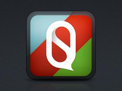QS App Icon app icon ios icon qs stats