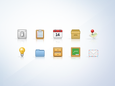 32px Icons (part01) icons 32px notes pin map mail general calendar places folder archive chalkboard envelope