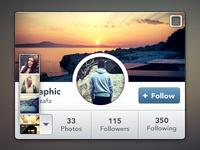 Instagram Widget (rebound)