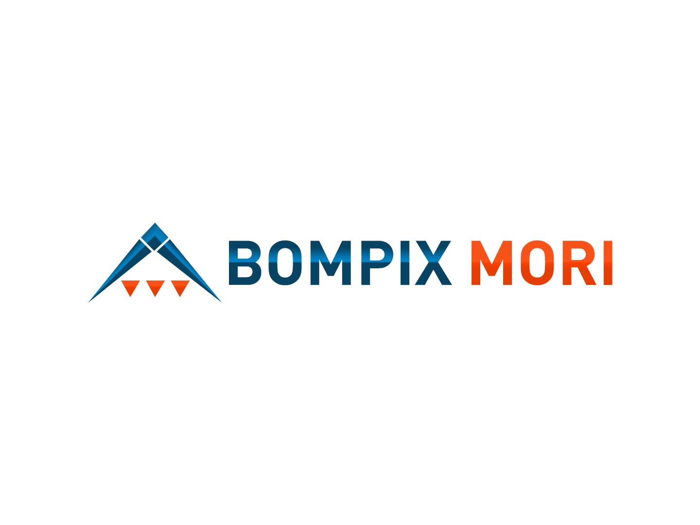 Bompix Mori brand identity logotype logodesign web website e commerce logo branding design brand and identity