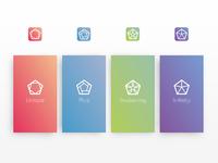 Branding for a family of apps