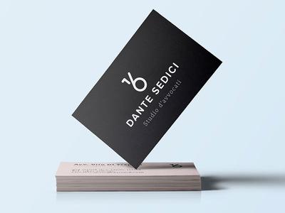 Dante 16 Law firm identity