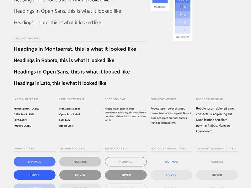 Open Source GUI google fonts fonts ctas cta buttons ux ui ui elements components open source gui