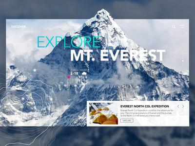 Explore Mt. Everest