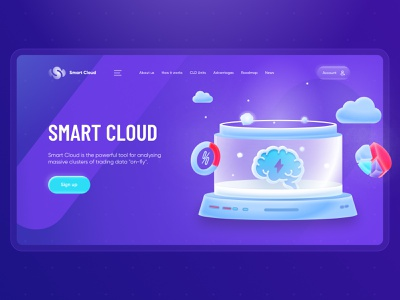 Data Analysis Website Design illustration cryptocurrency block chain wallet dashboard cryptocurrencies bitcoin web design ux
