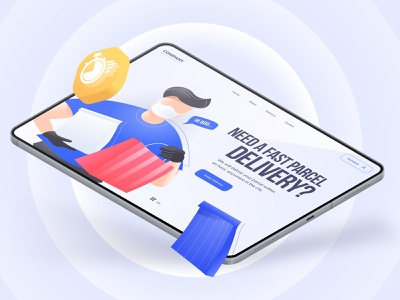 Delivery & covid illustration pack adobexd illustrator figma illustration web design coffee cargo marketplace shop illustration store illustration shop delivery covid19 covid illustration illustration