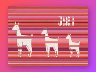 Alpacalendar illustration