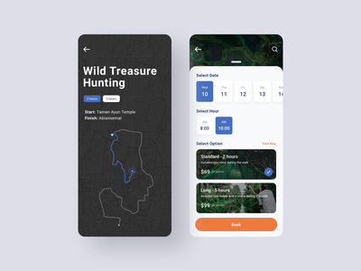 Booking a place xs max book booking ux ui location tracker sleek search places modern mobile location iphone finder find clean classy browse application app
