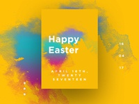 Happy Easter Day UI