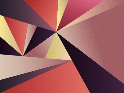 Geometrie simple inspiration pink geometrie forms