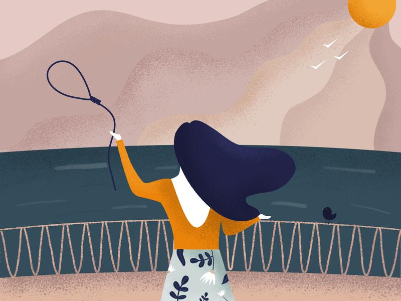 Need a break? sky depressed sea holiday