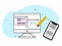 UI/UX illustrations