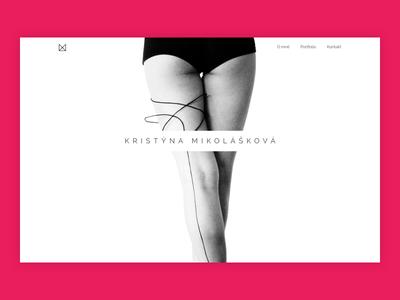 Kristýna Mikolášková - designer