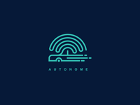 Daily Logo 5 - Autonome Driveless Car Logo