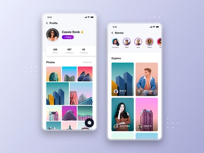 Social app - Freebie #3